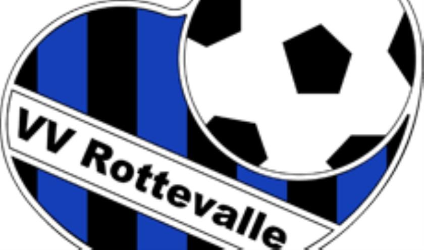 Het embleem van VV Rottevalle