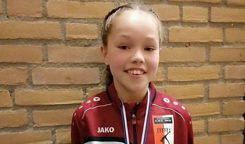 Gouden medaillewinnares Rommy Jansma.
