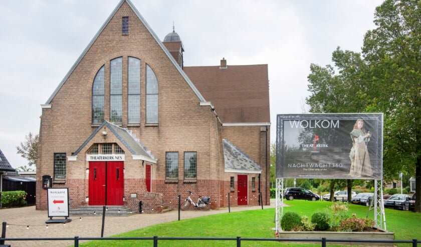 <p>De theaterkerk in Nes.</p>
