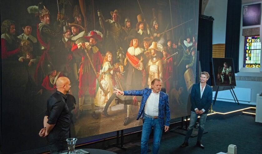 Arjen van der Gijn en de makers van de Nachtwacht.
