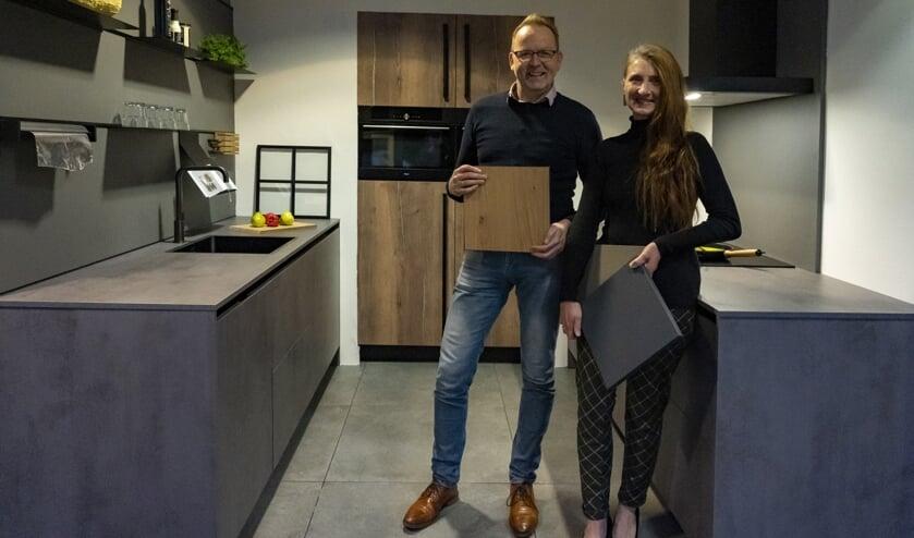 <p>Rob en Jannie Wijnstra van De Haan Keukens op Quatrebras.</p>