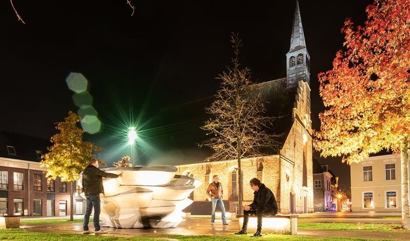 <p>De Grote- of Sint Martinuskerk in Dokkum.</p>