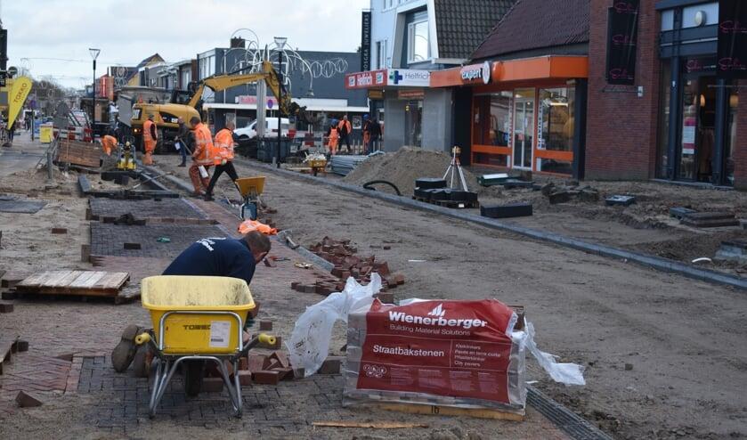 Het centrum van Surhuisterveen wordt opgeknapt.