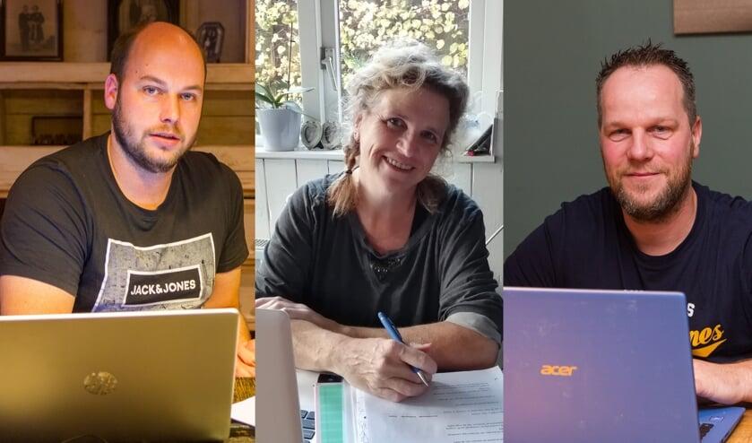 <p><strong>Hillebrand Tanja, Hillie de Jong en&nbsp;<strong>Rients van Dijk</strong>&nbsp;</strong></p>