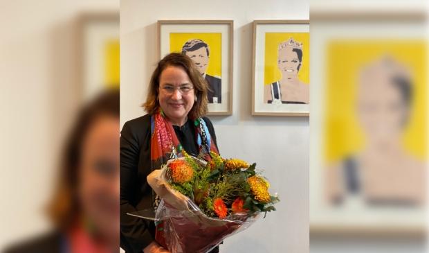 Ellen van Selm, burgemeester van Opsterland en nog vier jaar P10-voorzitter.