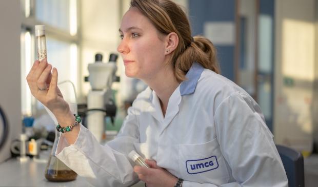 <p>Dr. Jenke Gorter in het UMCG.&nbsp;</p>