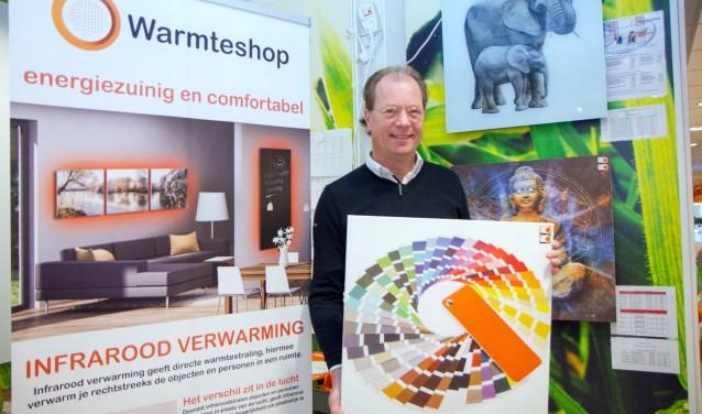 """Erik Meijer: """"De infraroodpanelen zijn in alle RAL-kleuren verkrijgbaar."""