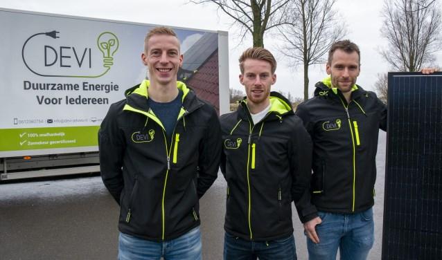 Hessel van der Wal, Jille van der Wal en Jelmer Beerda van DEVI in Buitenpost voor onafhankelijk advies op maat.