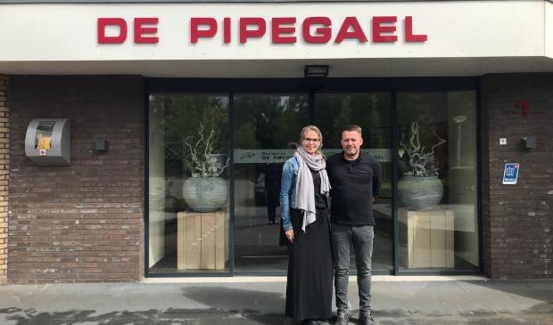 Het beheerdersechtpaar Janco en Tjitske van Dijk.