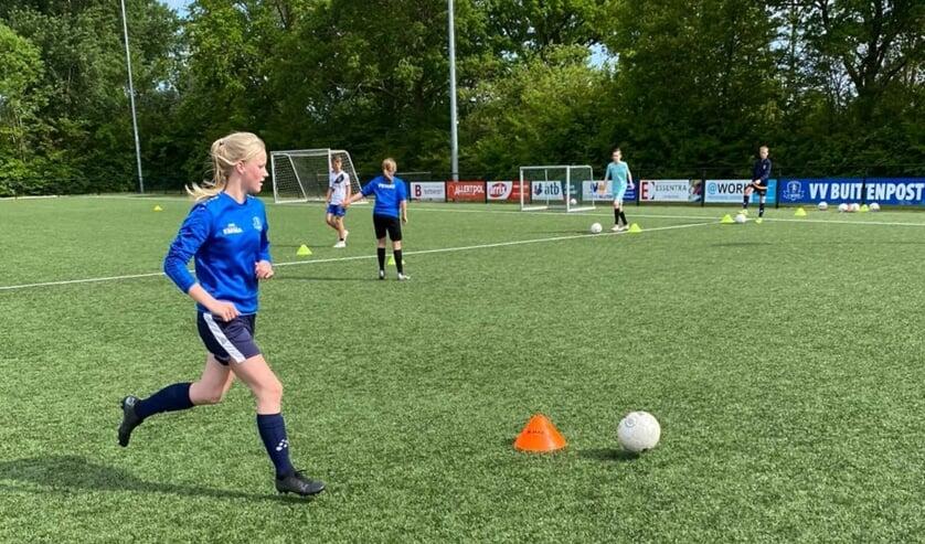 Techniektraining maakt voetballers beter.