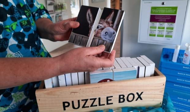 Een puzzel uit de 'Puzzlebox'.
