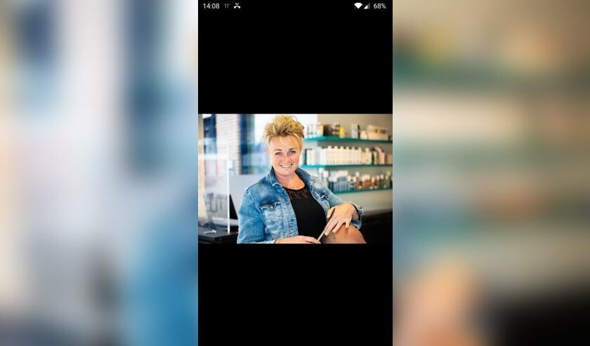 Eigenaar van Studio Hair, Ramona de Boer.