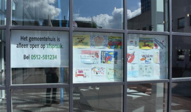 Het nieuwe zakencollege in Smallingerland treedt aan in 'coronatijd'.