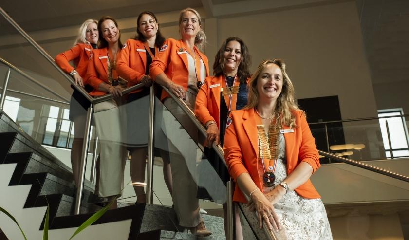 Het hoofdbestuur van Ladies' Circle Nederland.