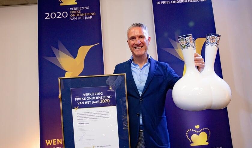 Winnaar Jan Baljeu van Friesland Lease.