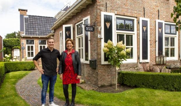 Djurre van der Galiën en Gryt van der Ploeg, zorgondernemers van Te Plak in Damwâld.