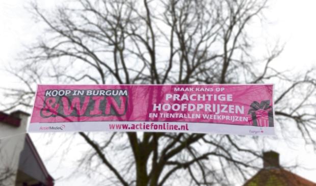 <p>Na de lockdown wordt de Koop in Burgum & Win!-actie hervat.</p>