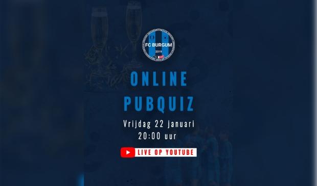 <p>Vrijdagavond 22 januari is de online quiz van FC Burgum</p>