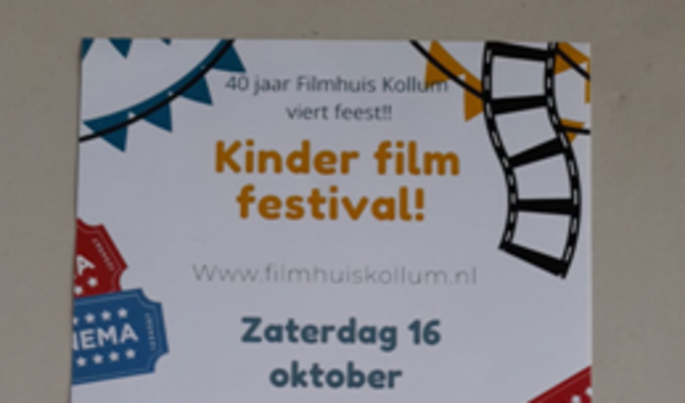 <p>Het Kinderfilm Festival in Kollum is op zaterdag 16 oktober.</p>