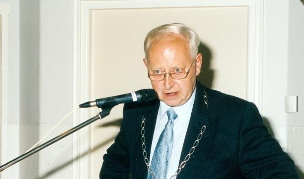 <p>Burgemeester Jan Geersing van Ferwerderadiel.</p>