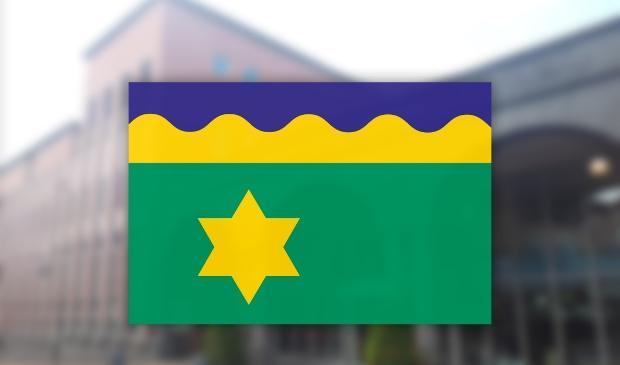 Het ontwerp van de nieuwe vlag is door burgemeester Johannes Kramer weer ingetrokken.