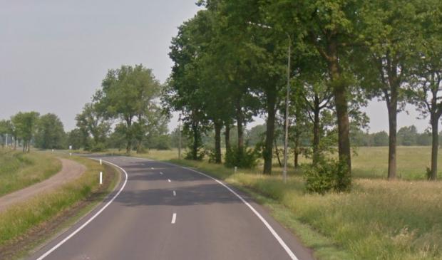 De N358 nabij Augustinusga.