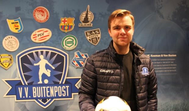 Sander Broekema uit Marum wordt jeugdtrainer van Buitenpost.