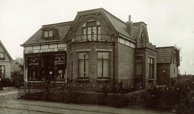 <p>Het ouderlijk huis van Rinze Douma aan de Lageweg in Burgum.</p>