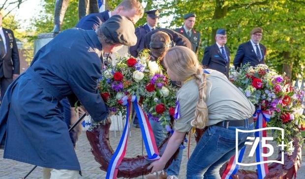 <p>Een vorige herdenking in de Prinsentuin in Leeuwarden.</p>