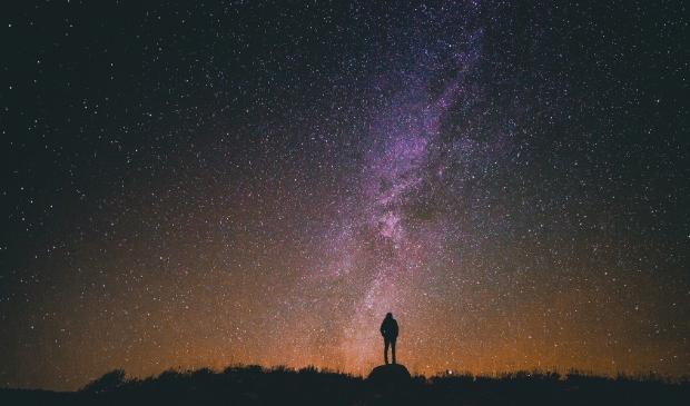 De Melkweg zoals je die alleen nog ziet in een donkere omgeving.