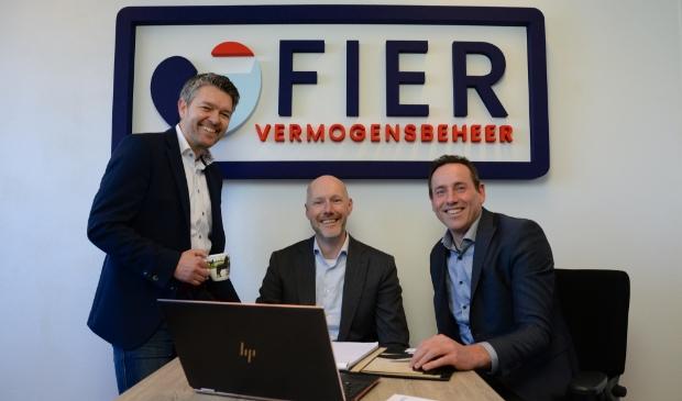 <p>Bram Bakker, Johan IJsbrandij en Thijs van Keimpema.</p>