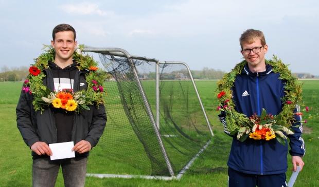 Eerste prijs bij de senioren: Rutger Torensma en Sjoerd Vlasman.
