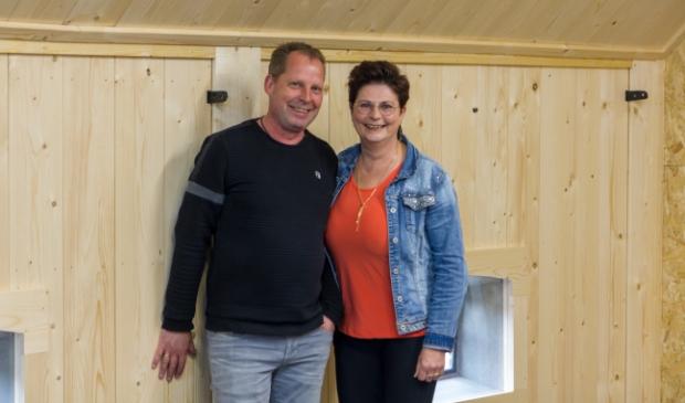 <p>Iede en Marga de Boer van De Boer Tweewielers.</p>