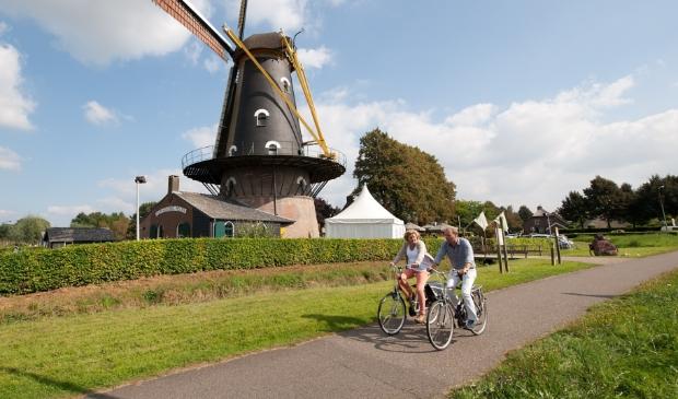 Een molen in het Noord-Brabantse Oisterwijk.