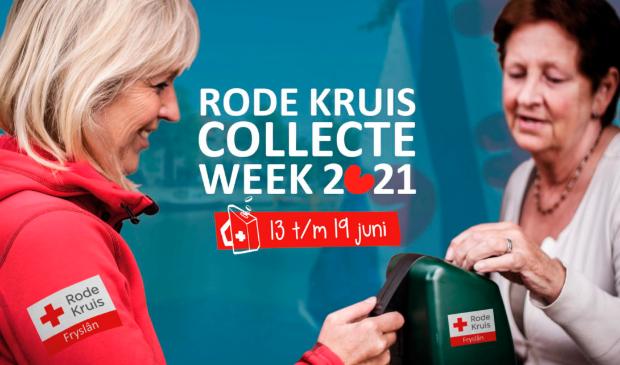 De Rode Kruis Collecteweek is van 13 t/m 19 juni 2021.
