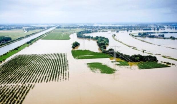 De overstroming half juli 2021 in Limburg.