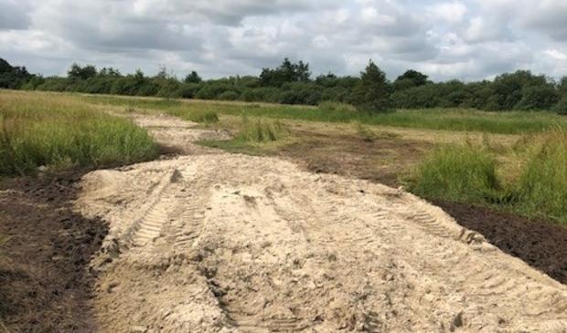 <p>Er is extra zand nodig voor het hetstel van het Blotevoetenpad.</p>