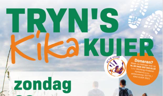 <p>Zondag 22 augustus is er in de Trynw&acirc;lden Tryn&#39;s KIKA Kuier, een wandeling van ongeveer tien kilometer.</p>