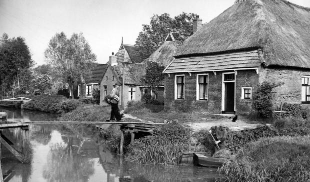 De Wâl in 1953. Een foto uit het boek van Fokko Schepel.