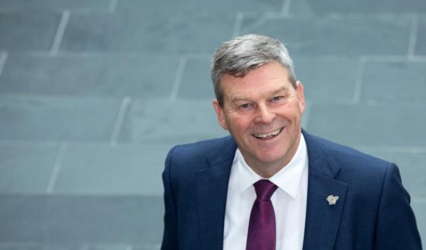 <p>Burgemeester Klaas Agricola van de gemeente Dantumadiel.</p>