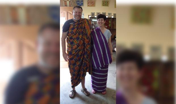 <p>Jan H. Woudstra, samen met zijn vrouw Baukje, die overleed in 2016.&nbsp;</p>