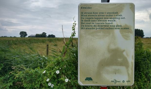 <p>Gedicht langs het Ede Staal pad.</p>