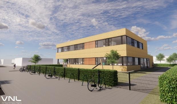 <p>Het ontwerp van het nieuwe IKC de Diamant is van VNL architecten in Grou.</p>