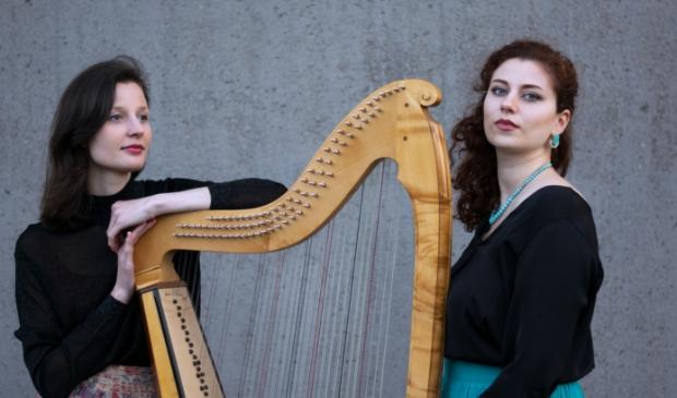 Het duo Michela Amici en Elisa de Toffol.