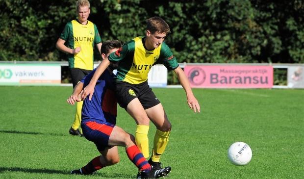 <p>Jacob Hendrik Heeringa viel als jonge speler in en scoorde al snel voor de groen-gelen!</p>