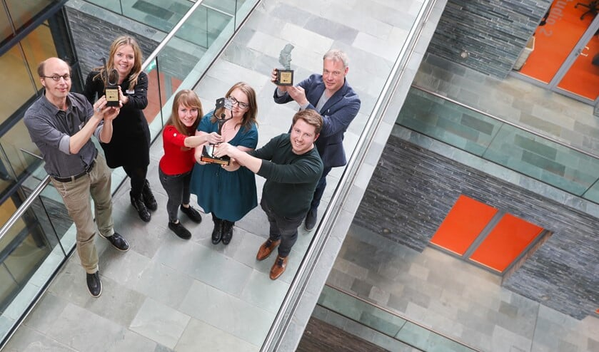 De prijswinnaars van de NNP-dag 2018.