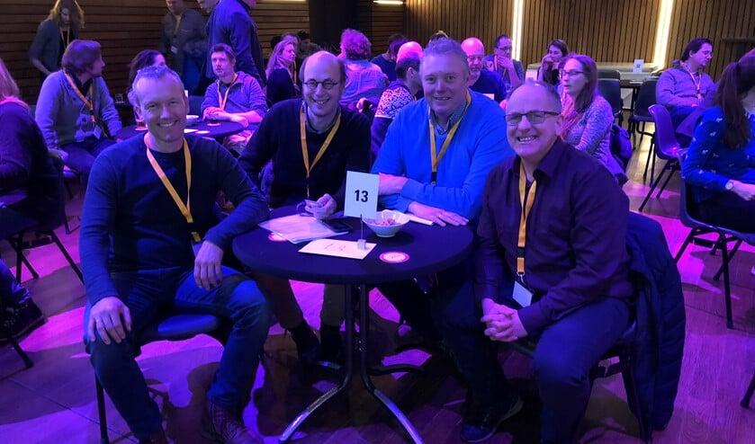 • Het team van vorig jaar met v.l.n.r. Robert van der Hek, Geurt Mouthaan, Rick den Besten en Dick Aanen.
