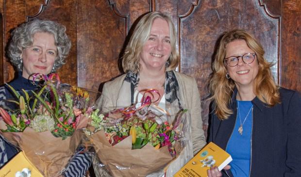 Foto: vlnr Mariska de Jong, Anke van Hal en Els Holsappel