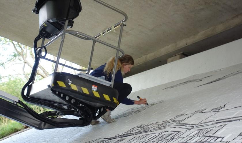 Kunstenares Rosalie de Graaf