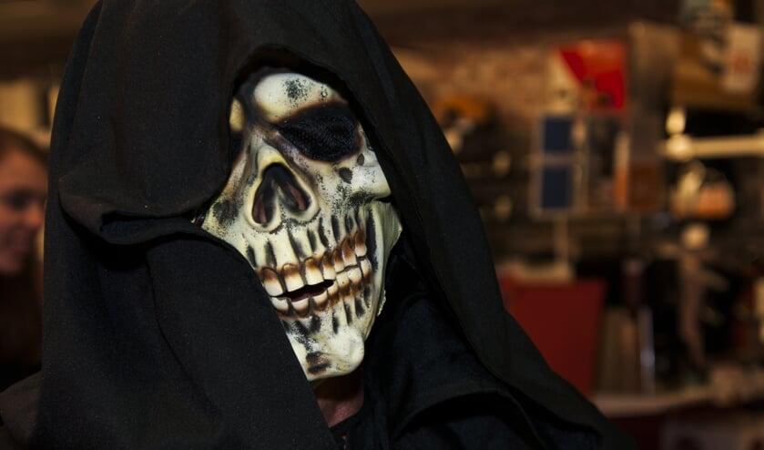 Spooktocht tijdens Halloween Brummen in 2018. Archieffoto: Marion Verhaaf